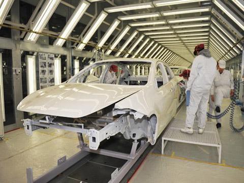 汽车厂涂装线输送系统