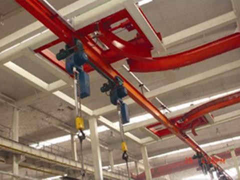 某大型企业自行葫芦输送系统