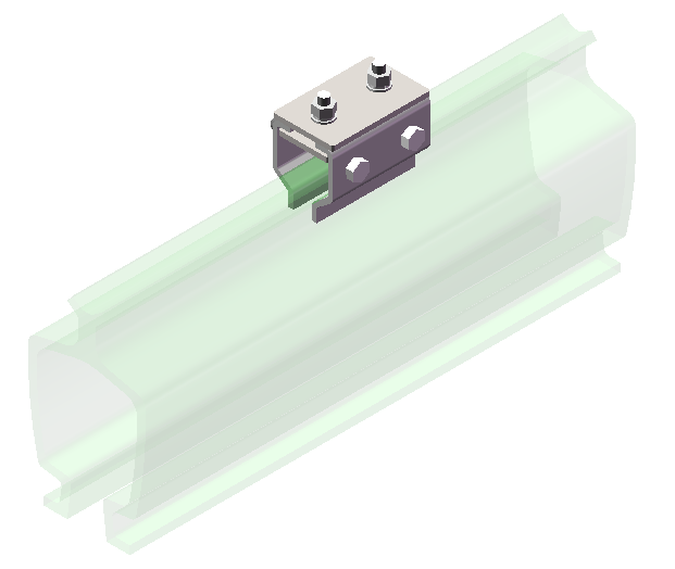 铝合金KBK电缆固定器