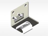 铝合金KBK终端固定装置