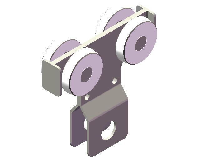 500KG铝合金KBK工具滑车实物图
