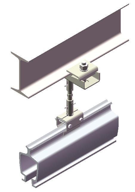 铝合金KBK吊挂装置图