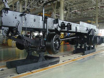 重型汽车零部件滑橇输送机