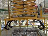 空中自行小车工作视频