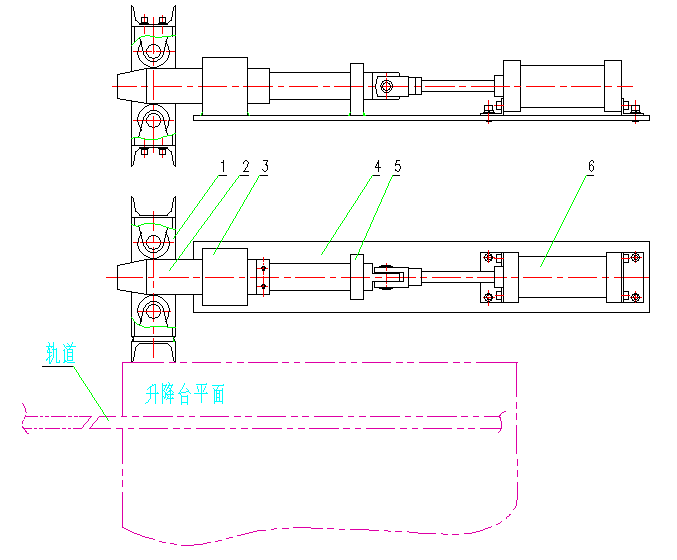 升降台对轨机构设计原理及注意事项